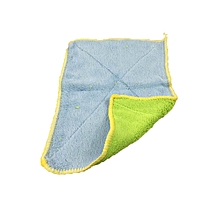 DIHE Powerful Oil Proof Rag Convenient Cleaning Cloth Tools Decontaminate Textile(Random Colour) BLUE AND GREEN