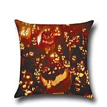 Halloween Pillow Case Sofa Waist Throw Cushion Cover Home Decor