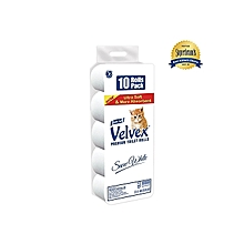 Toilet Rolls White (Pack of 10)