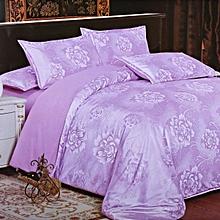 Duvet Cover - Purple 300 Thread Count King Size 240x260cm