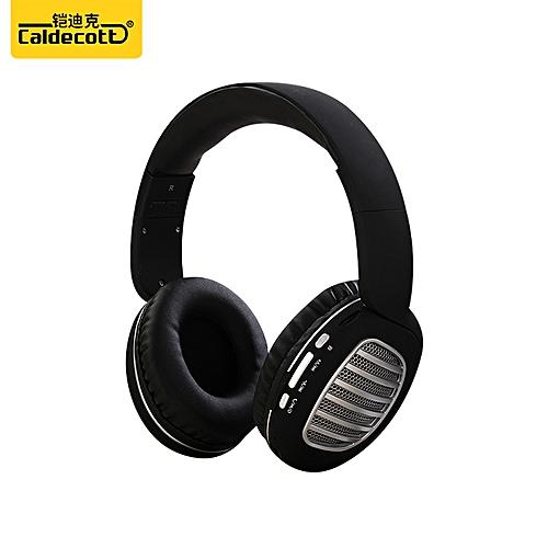bb438fc3553 Fashion Brand Headset Bluetooth Wireless MIC FM Stereo HI-FI @ Best ...