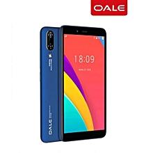 P2 - 5.5'' - 16GB ROM - 2GB RAM, Face ID - 5MP + 8MP Dual Camera - 4G - 2700mAh -Plus Free screen protector +Phone caver- Blue