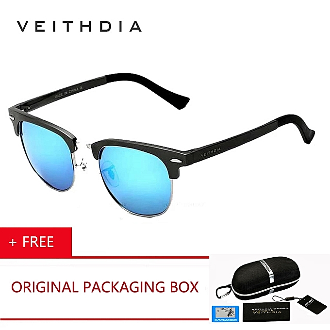 8717012599 VEITHDIA Unisex Aluminum Magnesium Men s Sunglasses Polarized Sports Blue  Coating Mirror Driving Sun Glasses Eyewear Accessories