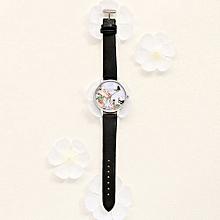 Olivaren LVPAI Watches Women Quartz Wristwatch Clock Ladies Dress Gift Watches Black