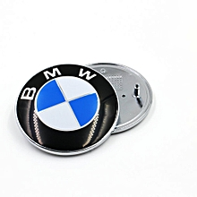 Boot Bonnet Front and Back Rear 73mm Emblem Badge Symbol Logo FOR BMW New