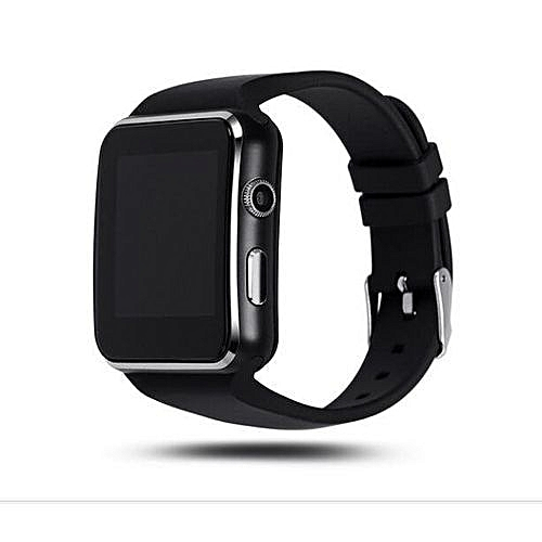 487d20953 Smart Watch X6 Sleek Smartwatch Watch Phone For Android - Black ...