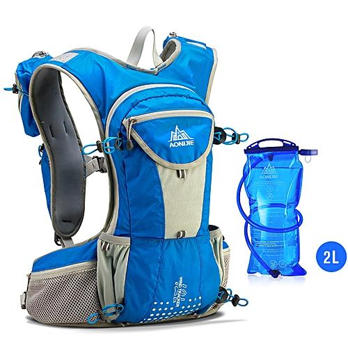 32ddb3b92cf8 E905 Hydration Pack Backpack Rucksack Bag Vest Harness Water Bladder Hiking  Camping Running Marathon Race Sports 12L(Set B)