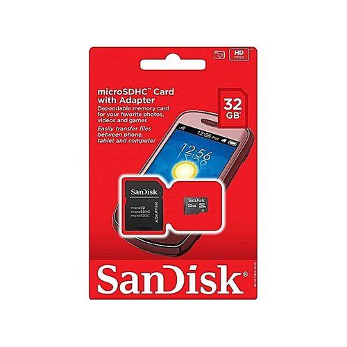 Sandisk 32GB MicroSDHC Memory
