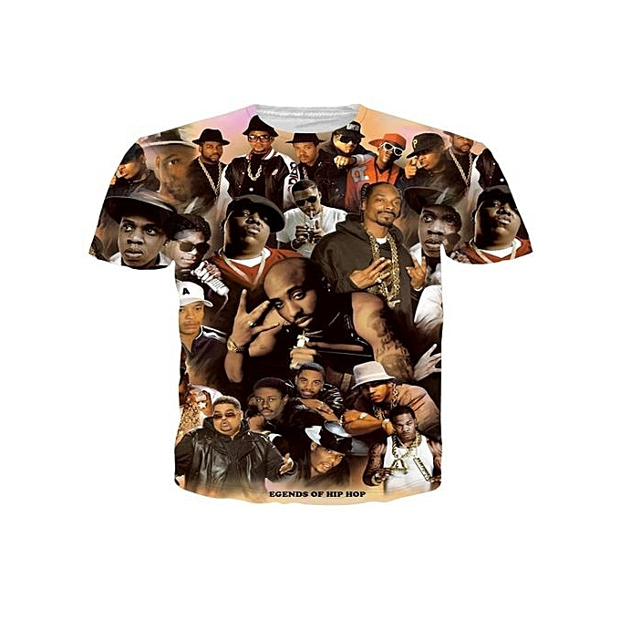 3c7d6f3c6a3ed Glorystar New Women Men Fashion 3D T Shirt Tupac Shakur 2Pac T-shirt ...
