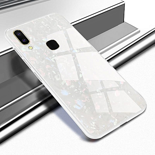 super popular 21bd7 5b20b Tempered Glass Pattern Painted Mirror Bumper Cover For Vivo V9 /VIVO Y85