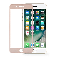 0.25mm 3D Curved Full Cover Tempered Glass Screen Protector For IPhone7 (Gold)