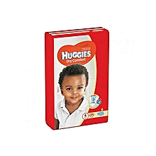 Dry Comfort , Size 4 (8-14Kgs) - 34 Diapers