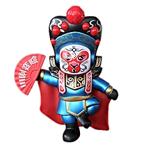 Chinese Sichuan Opera Face Changing Doll Toys Gifts-Green