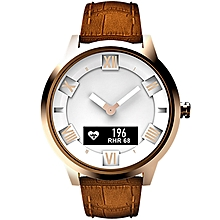 Lenovo Watch X Plus Genuine Leather Strap Smart Watch, Support Heart Rate Monitor / Sleep Monitor / Gesture Photo / Sedentary Reminder /  Sport Tracking (Rose Gold)