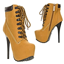 WOMEN Ankle Knee Heel Boot