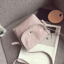 bluerdream-Women Hobo Leather Shoulder Bag Messenger Purse Satchel Tote Handbag Pink-Pink