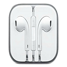 Universal iPhone/Android Earphones - White