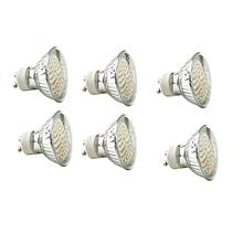 6 x LED - Spot Bulb - GU10 - SMD3W - Warm White