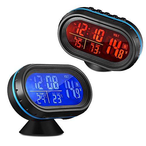 Vst 7009v Car Digital Clock With Thermometer And Automotive