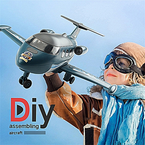 Transport Plane - Build Yourself DIY Aircraft Assembly Kit T