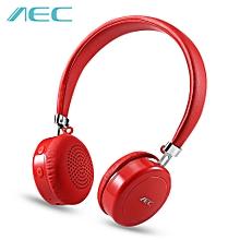 AEC BQ668 Wireless Stereo Bluetooth 4.1 On-ear Headphones-RED
