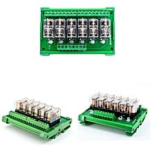 TKG2R-1E-K624 6 Channel Relay Module PLC Amplification Board Controller DC 12V/DC 24V DC 12V