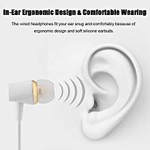 TY2 Type-C Earphone USB Type-C In-Ear Stereo Earphone Deep Bass Headset Headphone w/ Mic for Mate9 P8 Note8