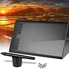 """M708 Ultra-thin Draw Digital Graphics Drawing Painting Tablet Pad 10"""" * 6"""" Active Area 2048 Level Pressure Sensitivity"""