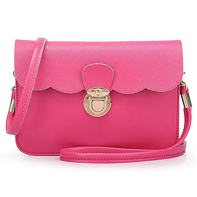5af9f50be2 douajso Womens Leather Shoulder Bag Clutch Handbag Tote Purse Hobo  Messenger HP