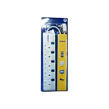 5 Way  Extension cable  With Surge Protection