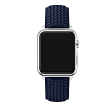 Sports Silicone Bracelet Strap Band For Apple Watch iwatch Series 1/2 38MM BU-Blue