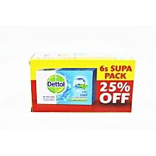 Crispy Menthal Antibacterial Soap 6`s Supa Pack 25% off.