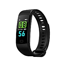 Fitness ID115 Heart Rate Smart Watch – Black