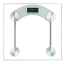 Step-on Auto Display Digital Bathroom Scale - Cream White