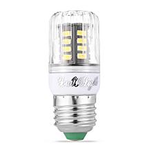 E26 / E27 3W 3000K 250Lm 5733 SMD Warm White 30 LEDs Corn Bulb AC 110 - 130V - WARM WHITE