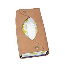 Leather Serviette box cover