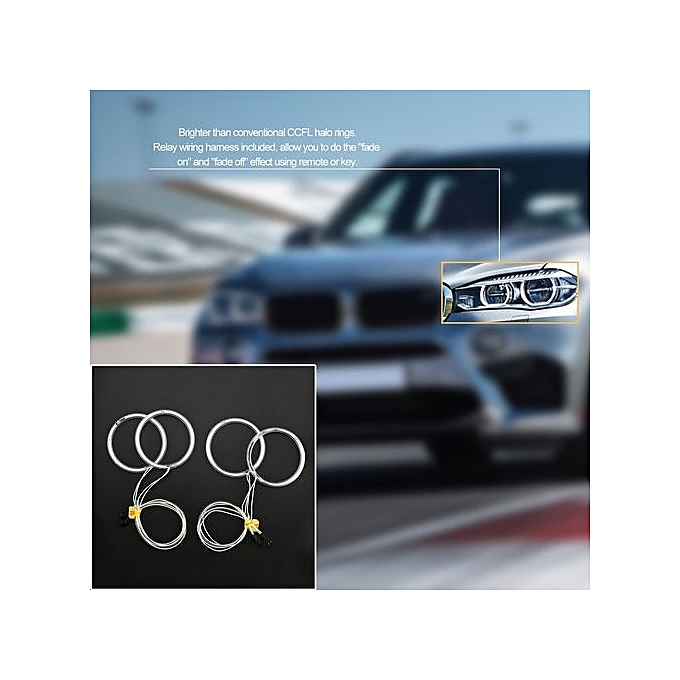 Buy Generic Professional White/Yellow LED CCFL Angel Eyes Halo Rings ...