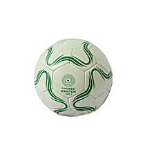Football Master Wht/Green Ss # 5: :