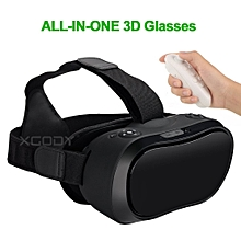 All In One Virtual Reality 3D VR Video Glasses Google Cardboard Best Headset FOV