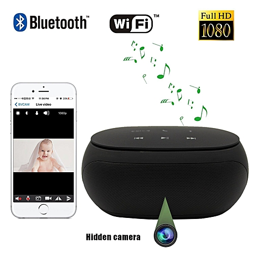 Generic Bluetooth Speaker Hidden Camera -Remote View