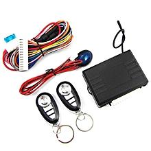 M604-8150 Universal Car Remote Central Kit Keyless Entry System Burglar Alarm black