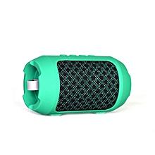 Wireless Bluetooth Speaker HIFI Stereo Sound TF Music Player Subwoofer Speaker green
