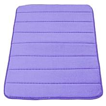Memory Foam Bath Bathroom Bedroom Floor Shower Mat Rug Non-slip Water Absorbent Dark blue