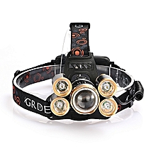Torch Lamp Headlight Light Weight 90000LM XM-L T6 XPE 4 Modes Durable Hiking Bicycle Bike
