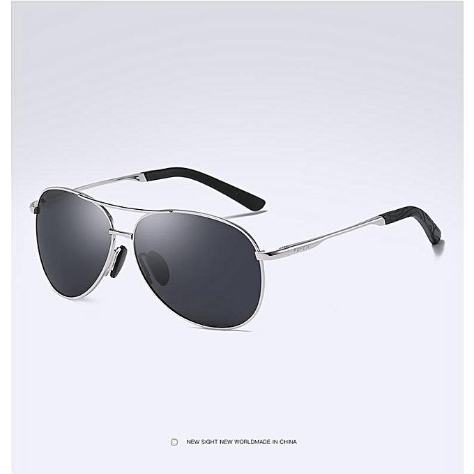 502d154c3645 Generic New style Man Woman Sunglasses Women Popular Brand Design Polarized  Sunglasses Summer HD Polaroid Lens Sun Glass 8 Colors 8013-silver black
