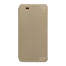 Desire 826 - Dot View Touch Sense Case - Gold