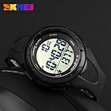 SKMEI Pedometer Women Digital Wristwatches LED Health Sports Watches Waterproof Girls For Gift Alarm Chrono Calendar