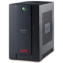 Back-UPS Line-Interactive 700VA 4AC outlet(s) Tower Black uninterruptible power supply (UPS)