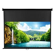 100 inch 16:9 Ratio Projector Screen - Black