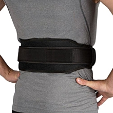 Gym Weight Lifting Belt Waist Back Support Strap Power Dip Training Fitness